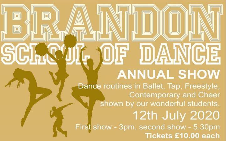 Postponed - Brandon School of Dance Annual Show