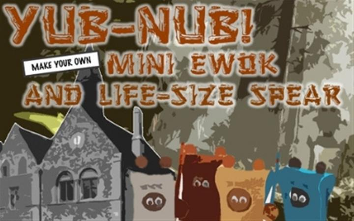 'YUB – NUB!' Make an Ewok & Spear image