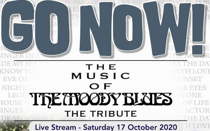 A Live Stream - GO NOW! The Music of The Moody Blues image