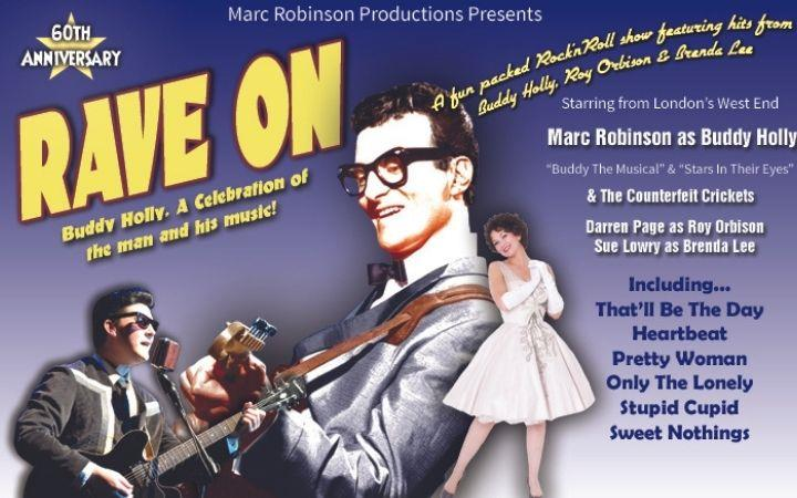 Rave On - A Tribute to Buddy Holly image