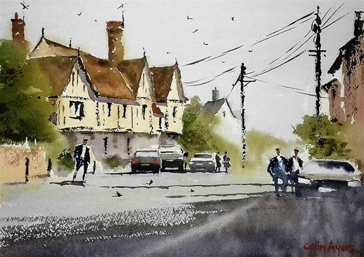 Watercolour Demonstration Morning image