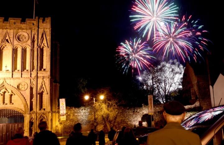 Abbey Gardens Fireworks Spectacular 2019