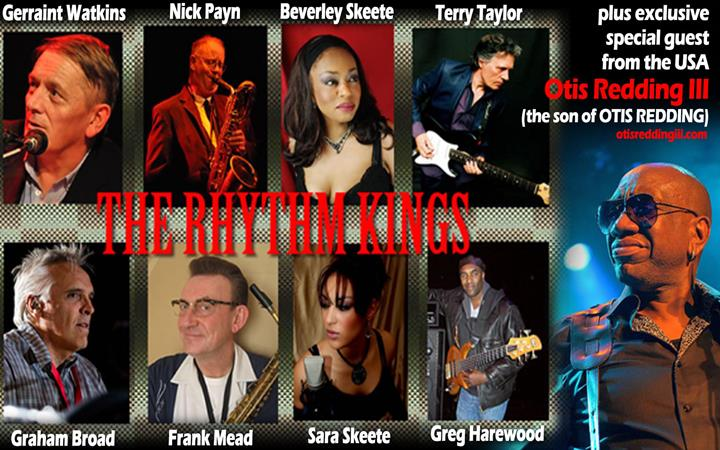 The Rhythm Kings plus Special Guest Otis Redding III image