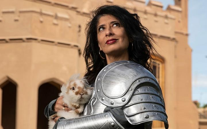 Shappi Khorsandi: Skittish Warrior... Confessions of a Club Comic image