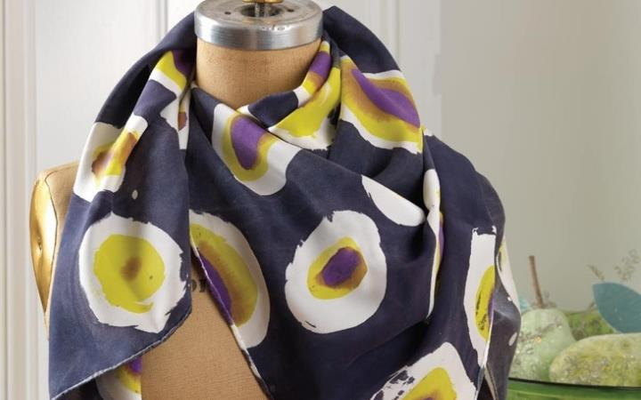 The Crafty Foxes 'Batik a Scarf' Workshop image