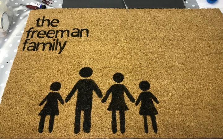 The Crafty Foxes - Personalise a Doormat image