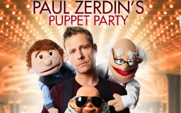 Paul Zerdin's Puppet Party image
