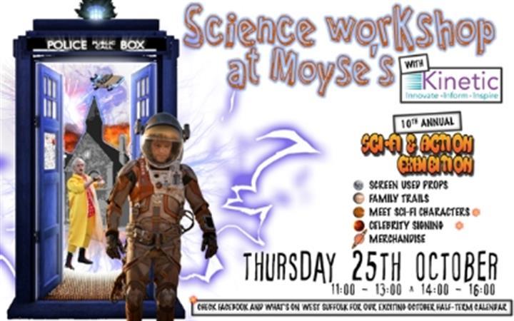 Science & Sci-Fi Children's Workshop image