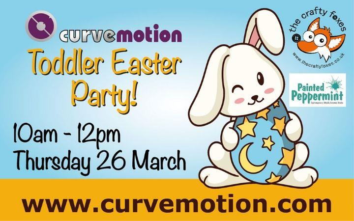 The CurveMotion Toddler Easter Party! image
