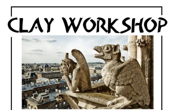 Make a Grotesque or Gargoyle! Clay Workshop