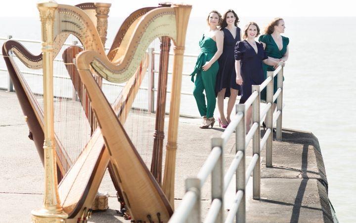 4 Girls 4 Harps image