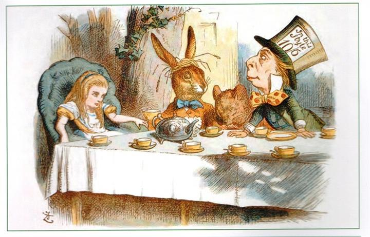 John Tenniel and the making of 'Alice' illustrations image