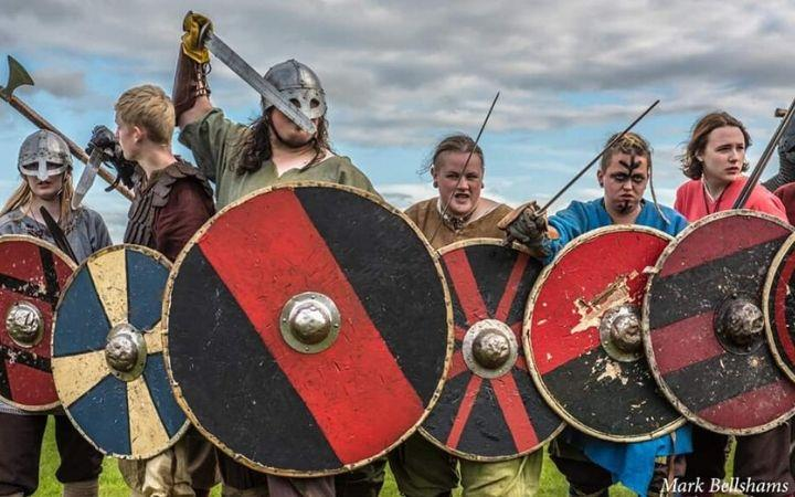 Vikings at West Stow! image