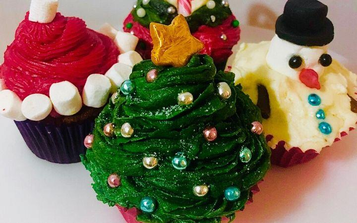 Children's Christmas Cupcake Workshop image