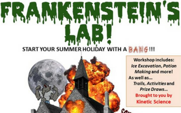 Frankenstein's Lab! Science and Monsters at Moyse's image