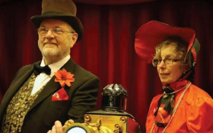 The Time Machine – A Victorian Magic Lantern Show image