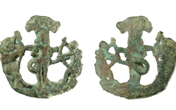 Pilgrim Badges of St Edmund & Other East Anglian Saints image