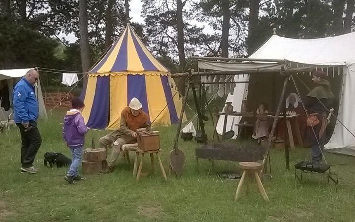 Medieval Visitors