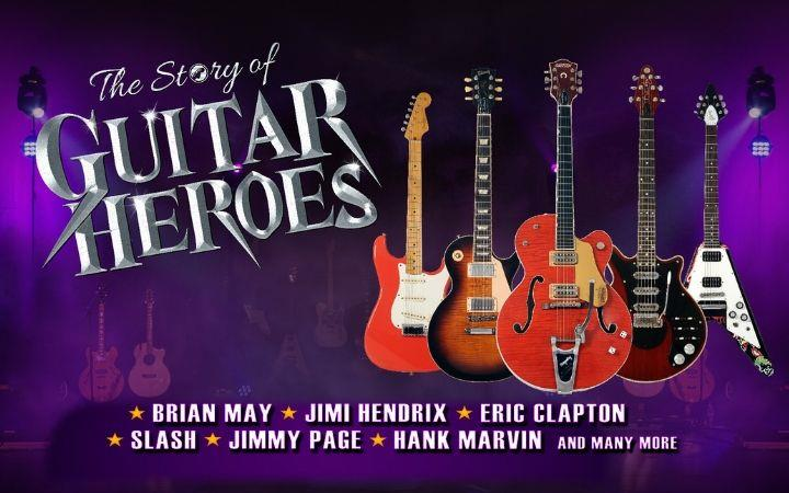 The Story of Guitar Heroes 2020 image