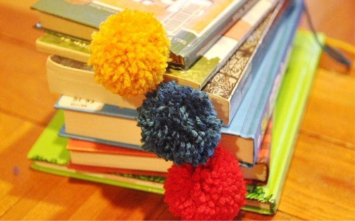 Crafty Kids Pom Pom Bookmarks image