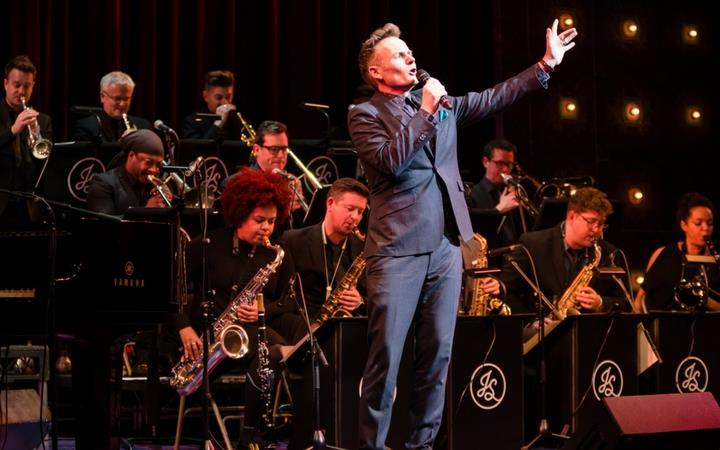 Joe Stilgoe & his Mighty Big Band image