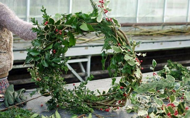 Nowton Park Wreath Workshop
