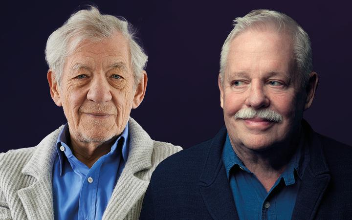 A Live Stream with Armistead Maupin in Conversation with Ian McKellen image