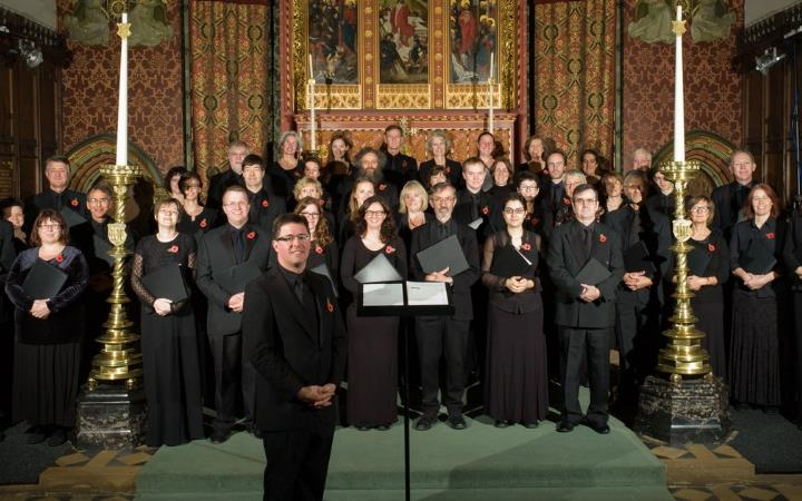 EAChO and Fairhaven Singers image