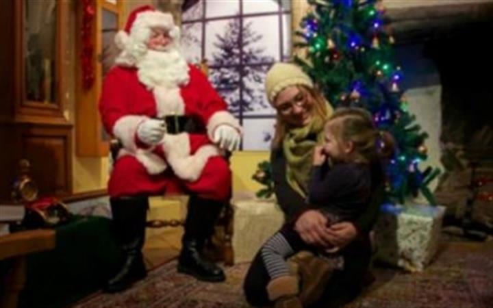 Meet Father Christmas at Moyse's Hall image
