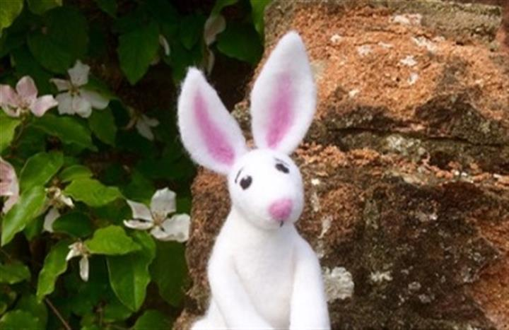 Needle Felting Workshop - The White Rabbit image