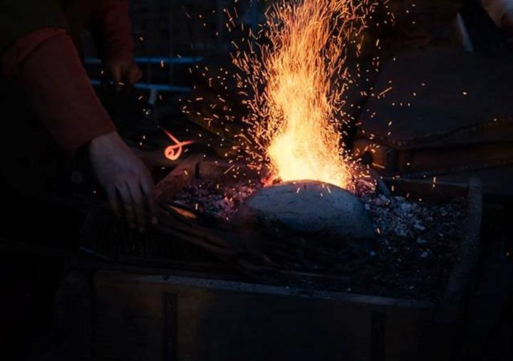 Life in a Blacksmith's Household