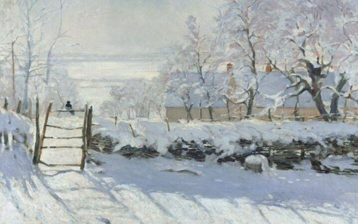 Painting the Winter Landscape - Recreate Monet's 'The Magpie'