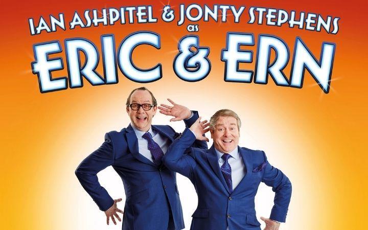 Ian Ashpitel and Jonty Stephens as Eric and Ern image