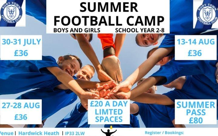 Summer Football Camps image