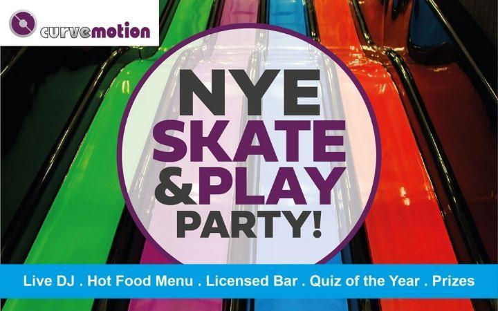 NYE Skate & Play Party image