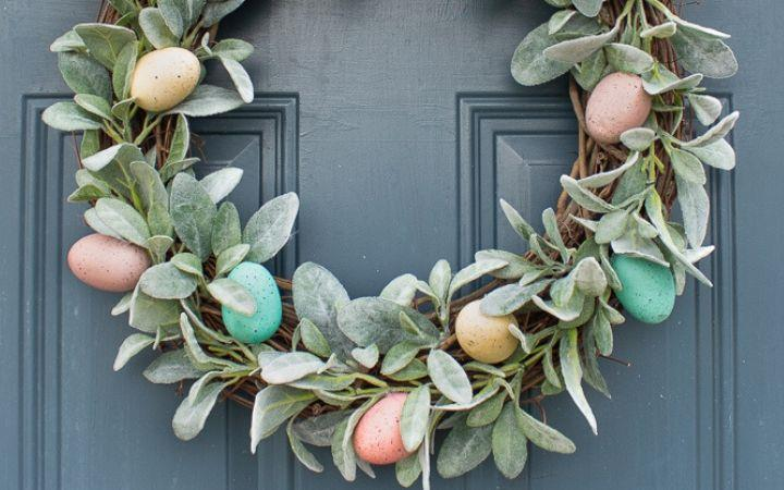The Crafty Foxes Easter Wreath Workshop image