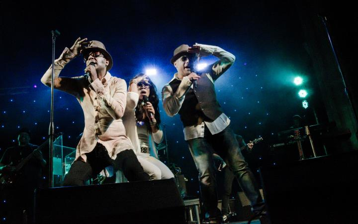 Shalamar & Support image