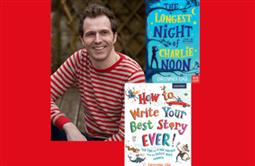 """Write Your Best Story Ever"" Writing Workshop with Christopher Edge (years 3 and 4)"