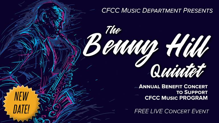 Benny Hill Quintet - LIVE IN-PERSON