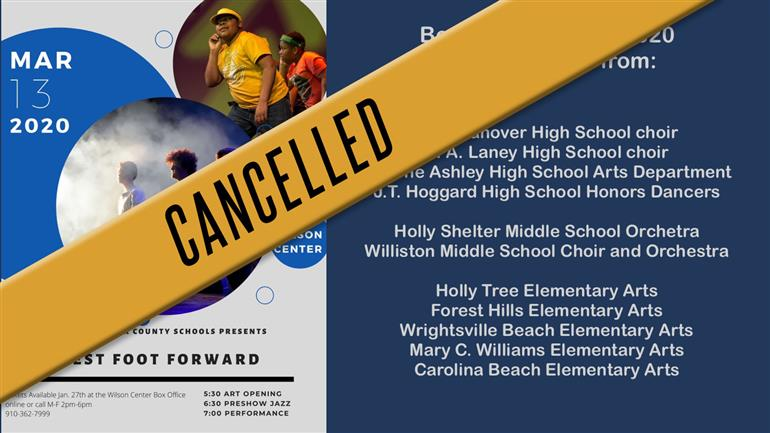 CANCELLED: Best Foot Forward 2020