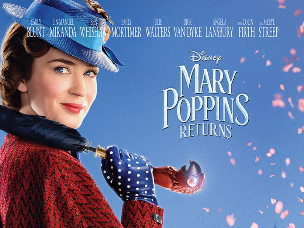 Main image for Mary Poppins Returns (U)