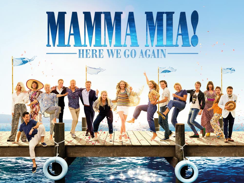 SMP: Mamma Mia! Here We Go Again (PG) cover image