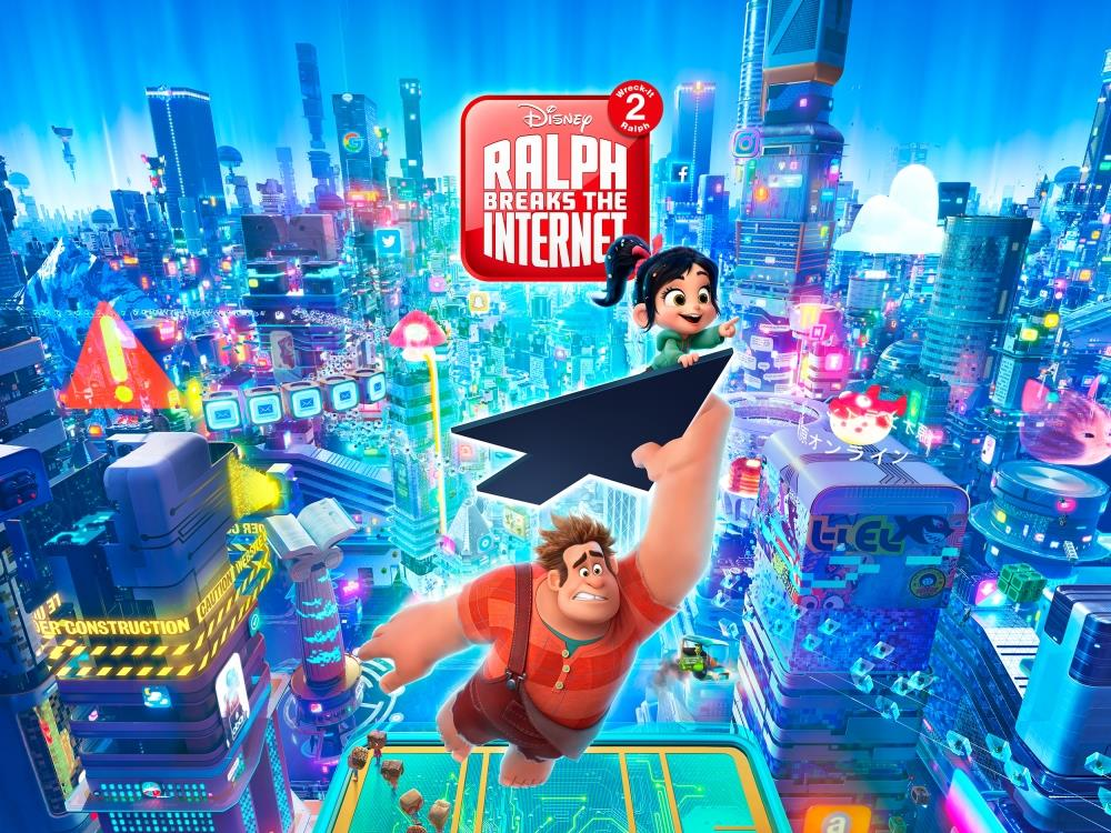 Main image for Ralph Breaks the Internet: Wreck It Ralph 2 (PG)