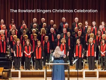 Featured image for The Rowland Singers Christmas Celebration