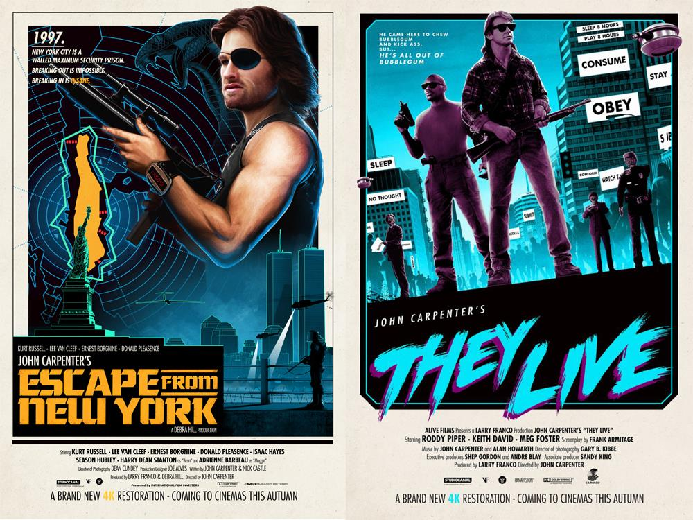 Escape From New York / They Live Double Bill (18) cover image
