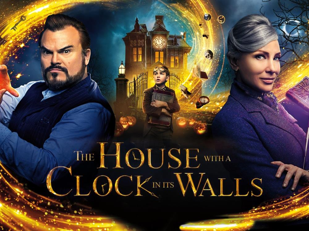 The House with A Clock in its Walls (12A) cover image