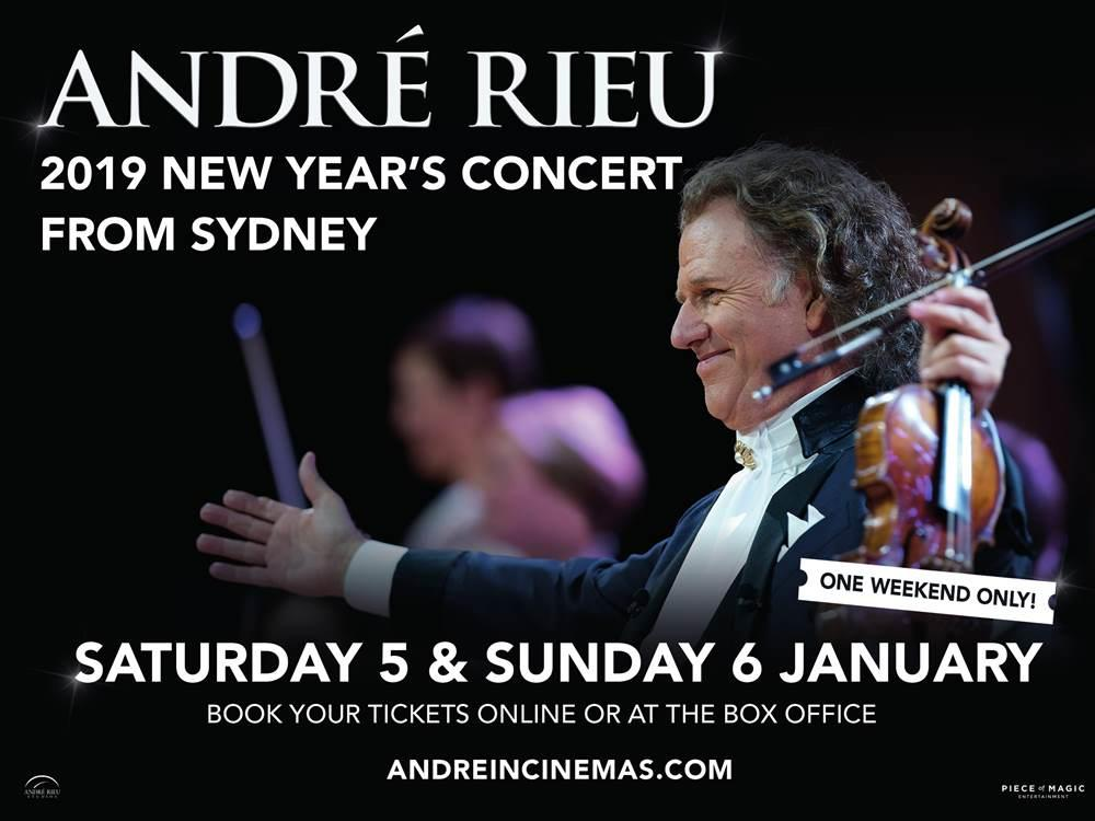Andre Rieu: 2019 New Year's Concert (12A) cover image