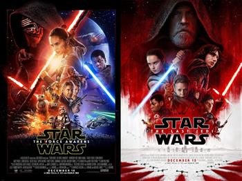 Featured image for Star Wars: The Force Awakens & The Last Jedi (12A)