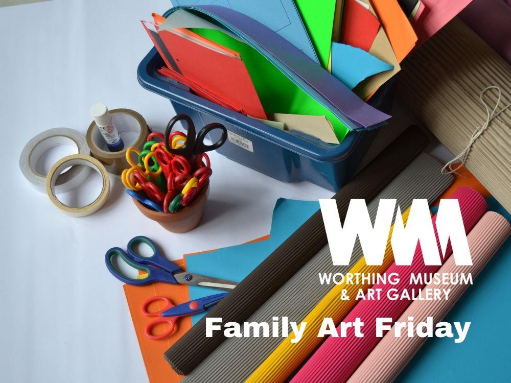 Main image for Family Art Friday: Papercrafts