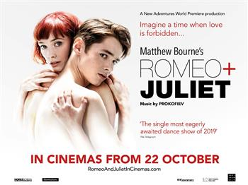 Featured image for Matthew Bourne's Romeo + Juliet (12A)